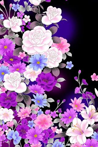 Android Wallpaper Flowers