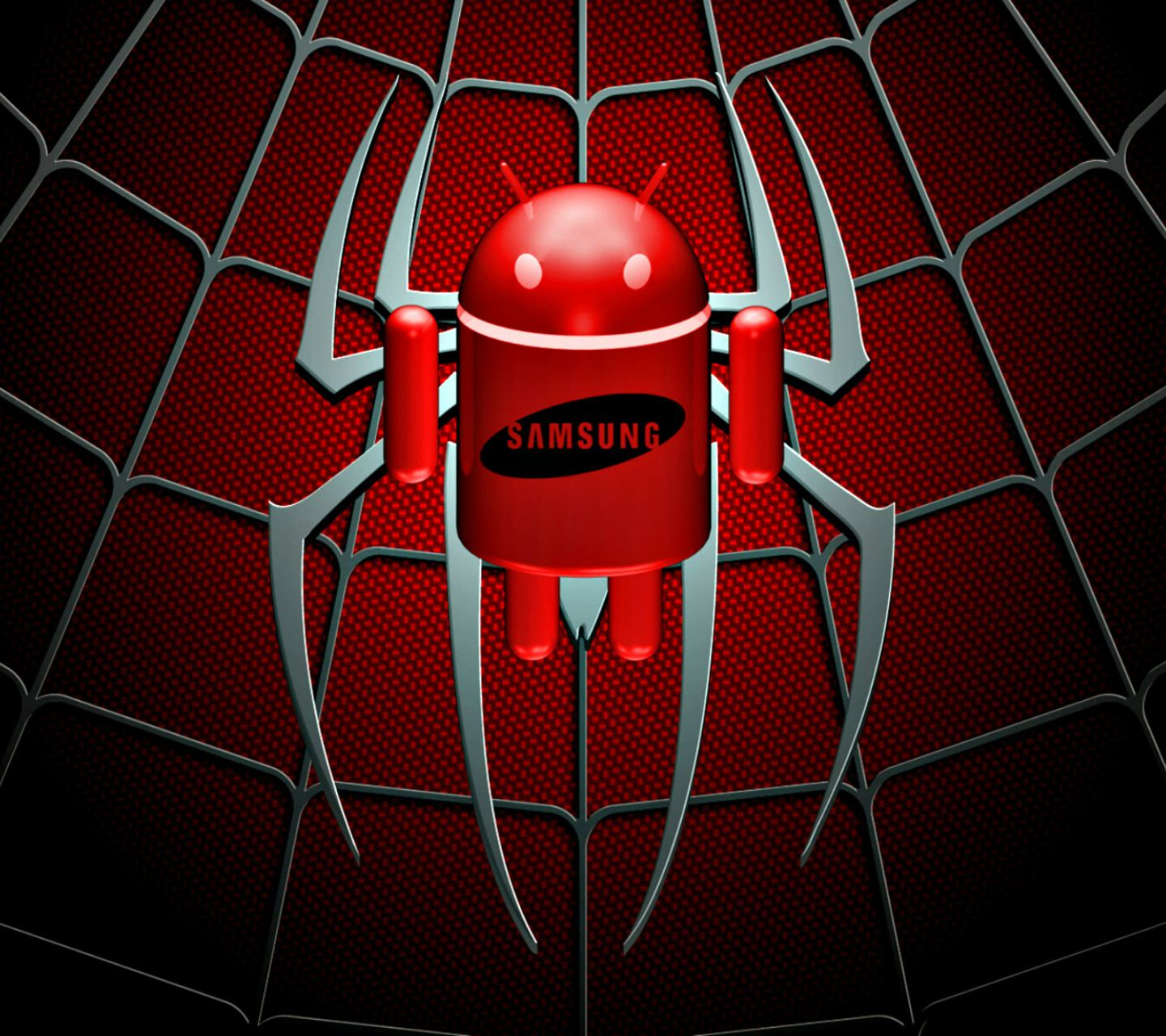Android Wallpaper Red