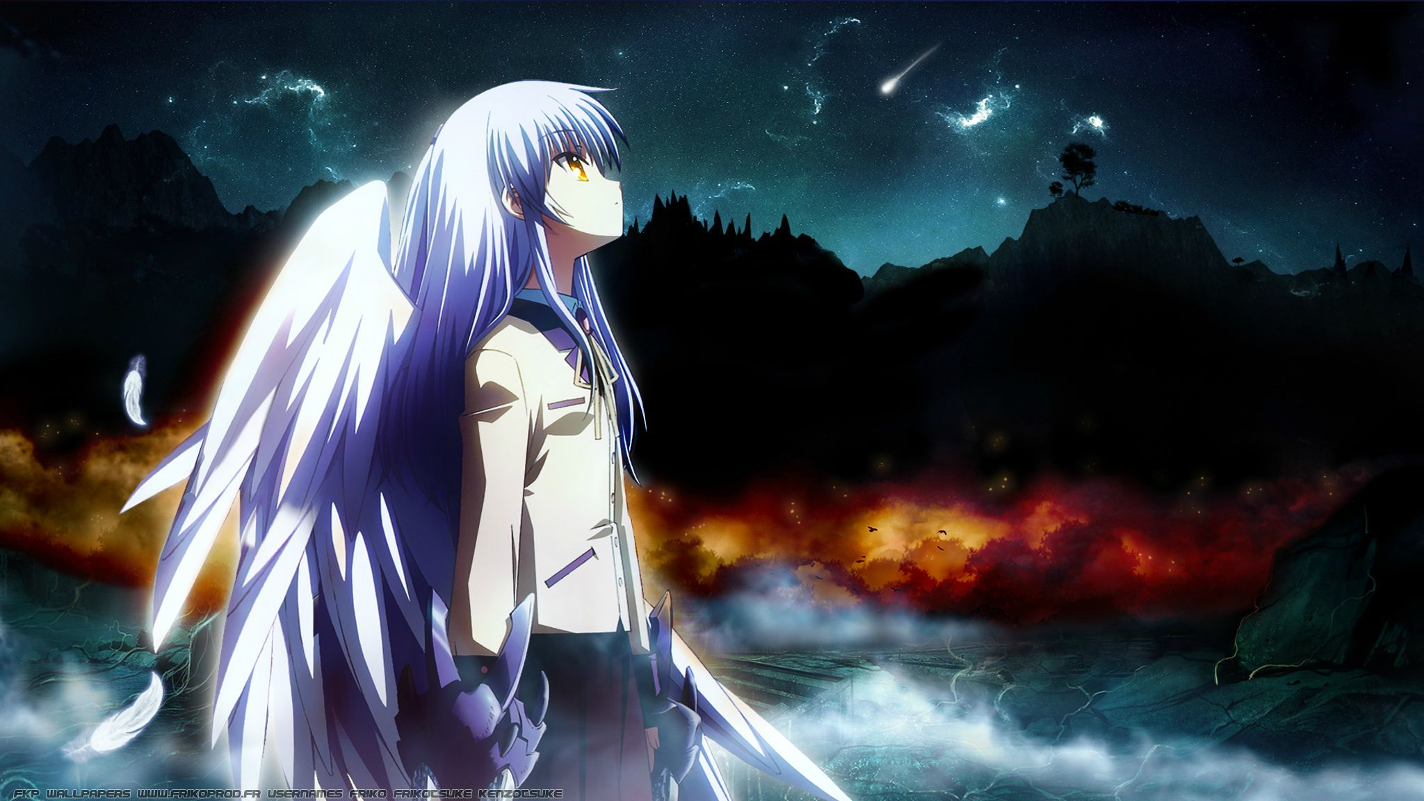 Angel Beats Kanade Wallpaper
