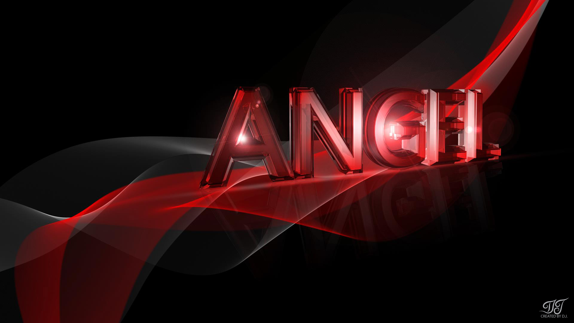 Angel Name Wallpaper