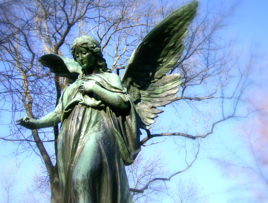 Angel Statue Wallpaper