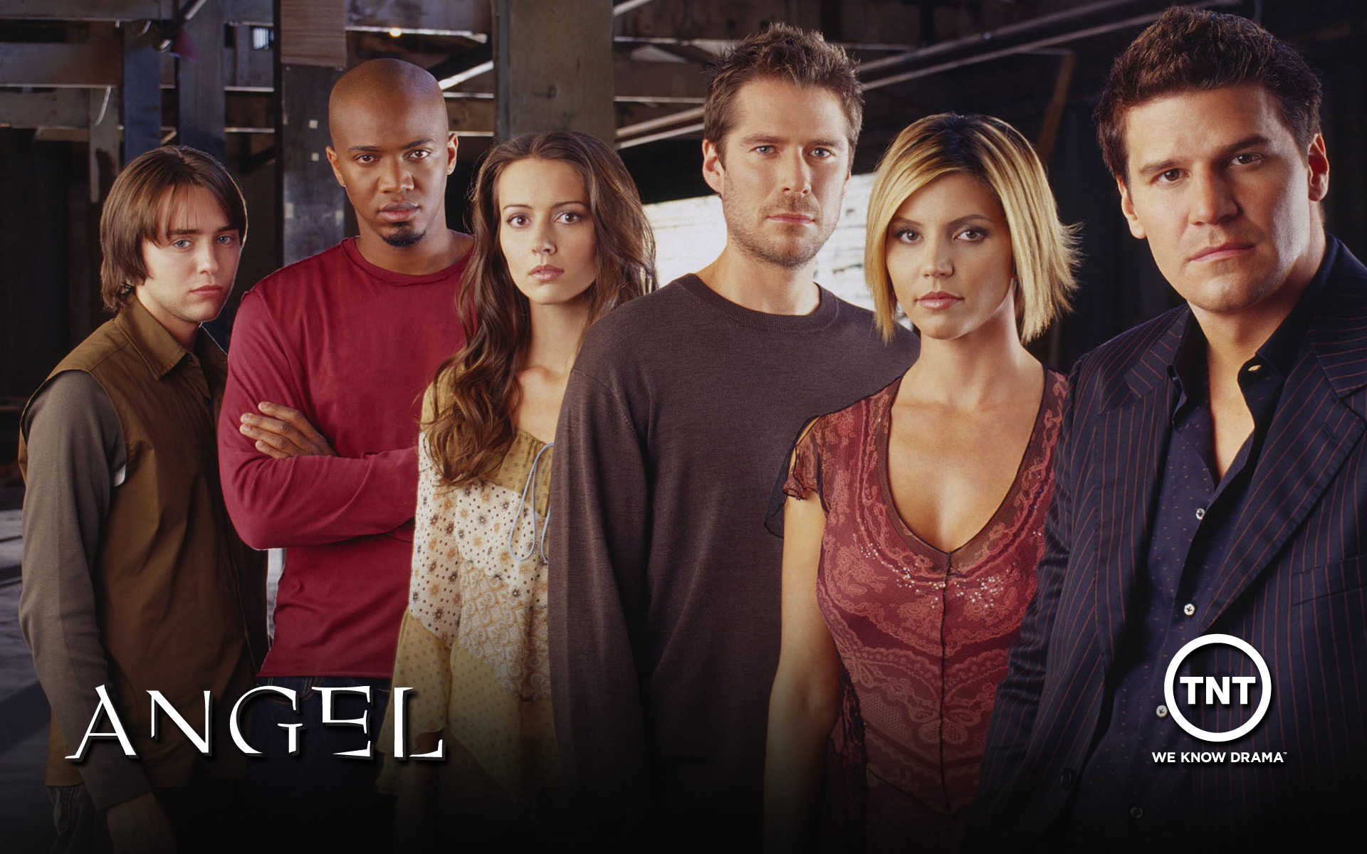 Angel Tv Show Wallpaper