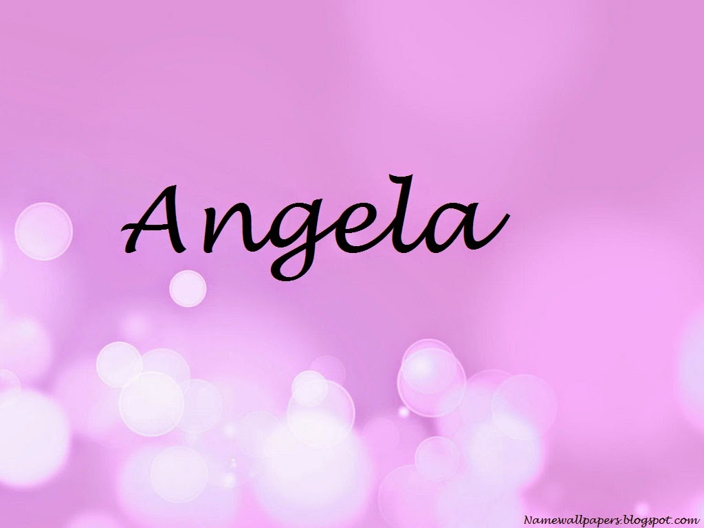 Angela Name Wallpaper