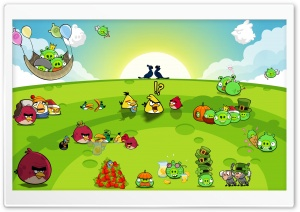 Angry Birds HD Wallpapers Download