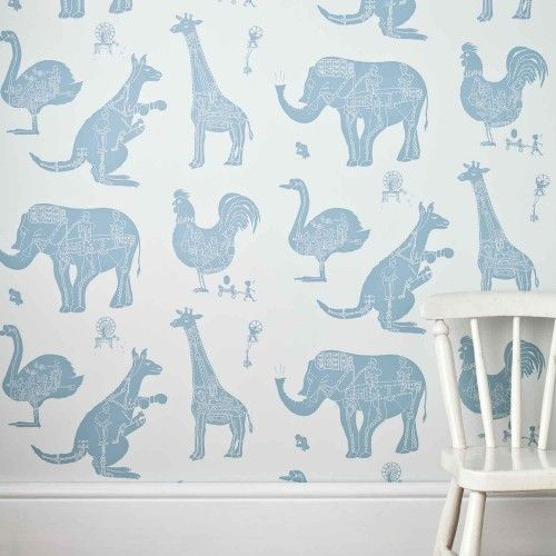 Animal Bedroom Wallpaper