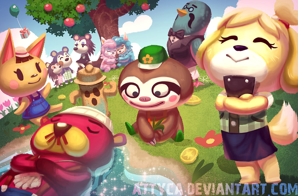 Download animal crossing new leaf wallpaper gallery for Animal crossing new leaf arredamento
