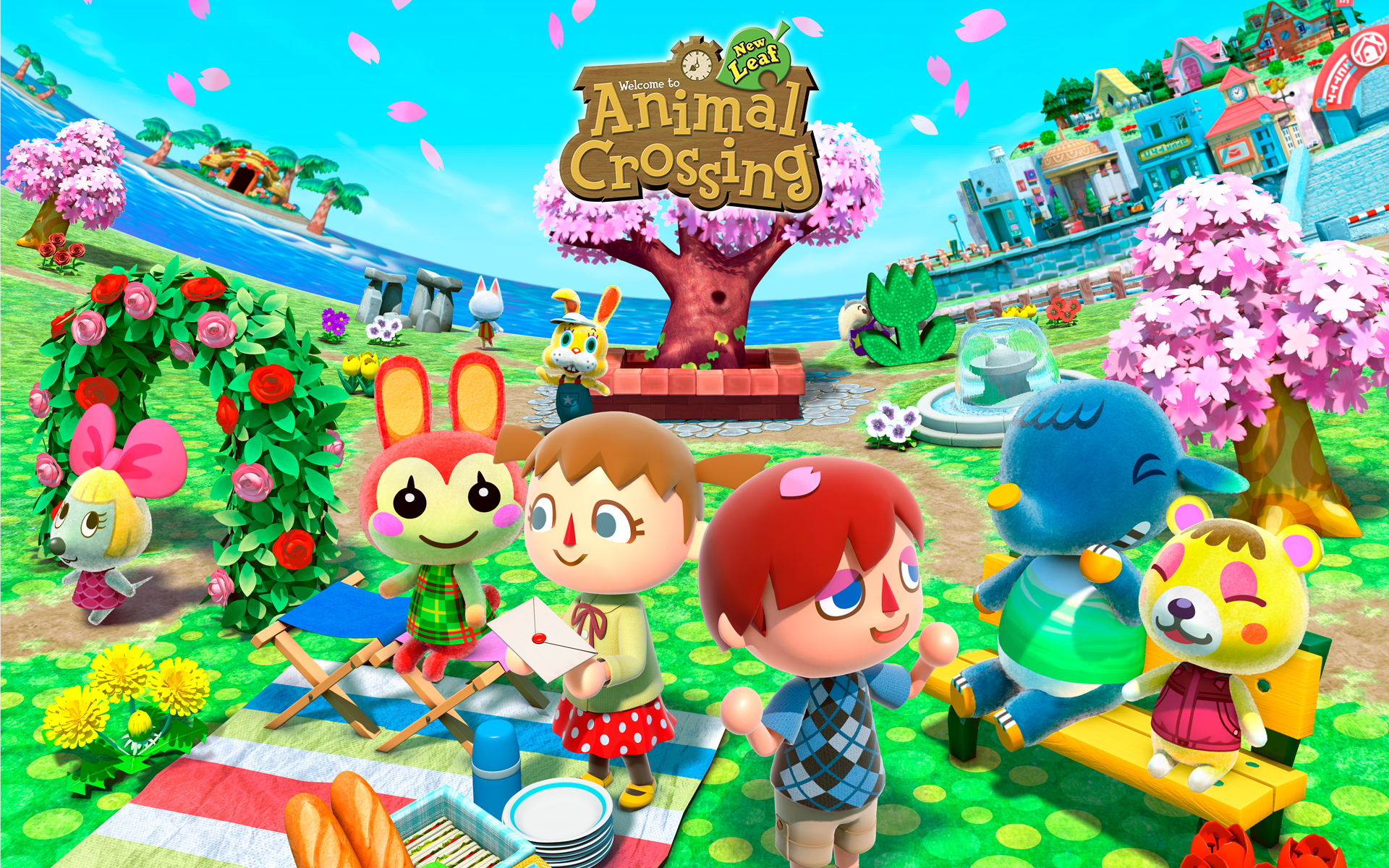 Animal Crossing New Leaf Wallpaper