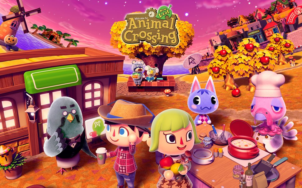 Animal Crossing Wallpapers