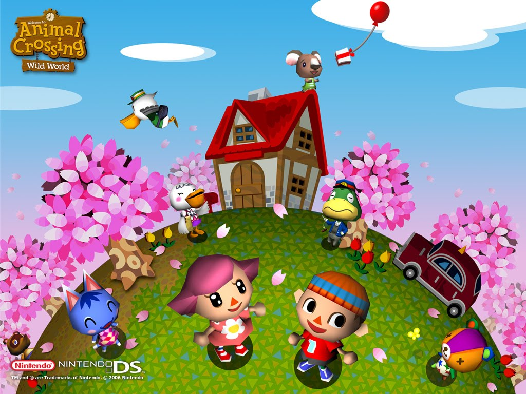Animal Crossing Wild World Wallpaper