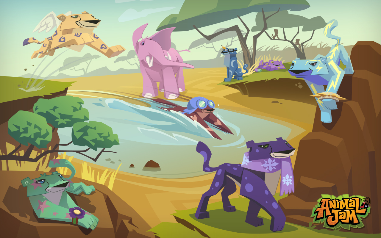 Animal Jam Wallpaper