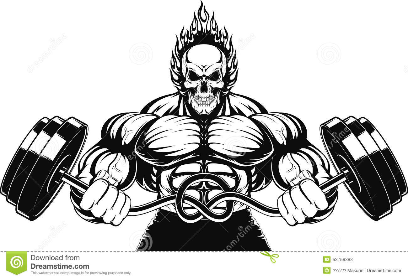 Download animated bodybuilder wallpapers gallery - Cartoon body builder ...