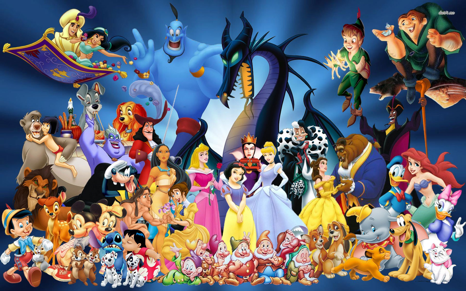 Animated Characters Wallpapers
