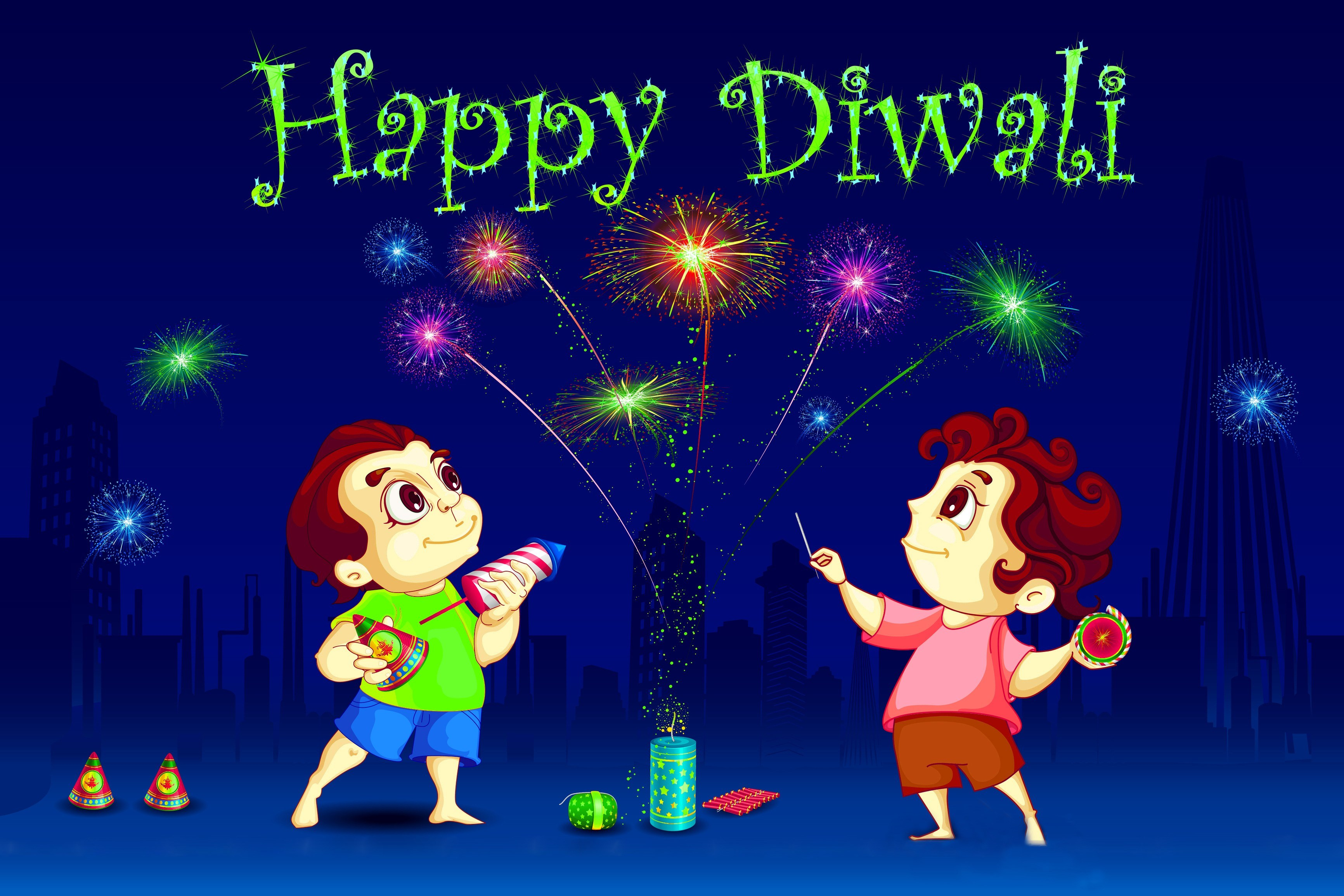 Animated Diwali Wallpapers