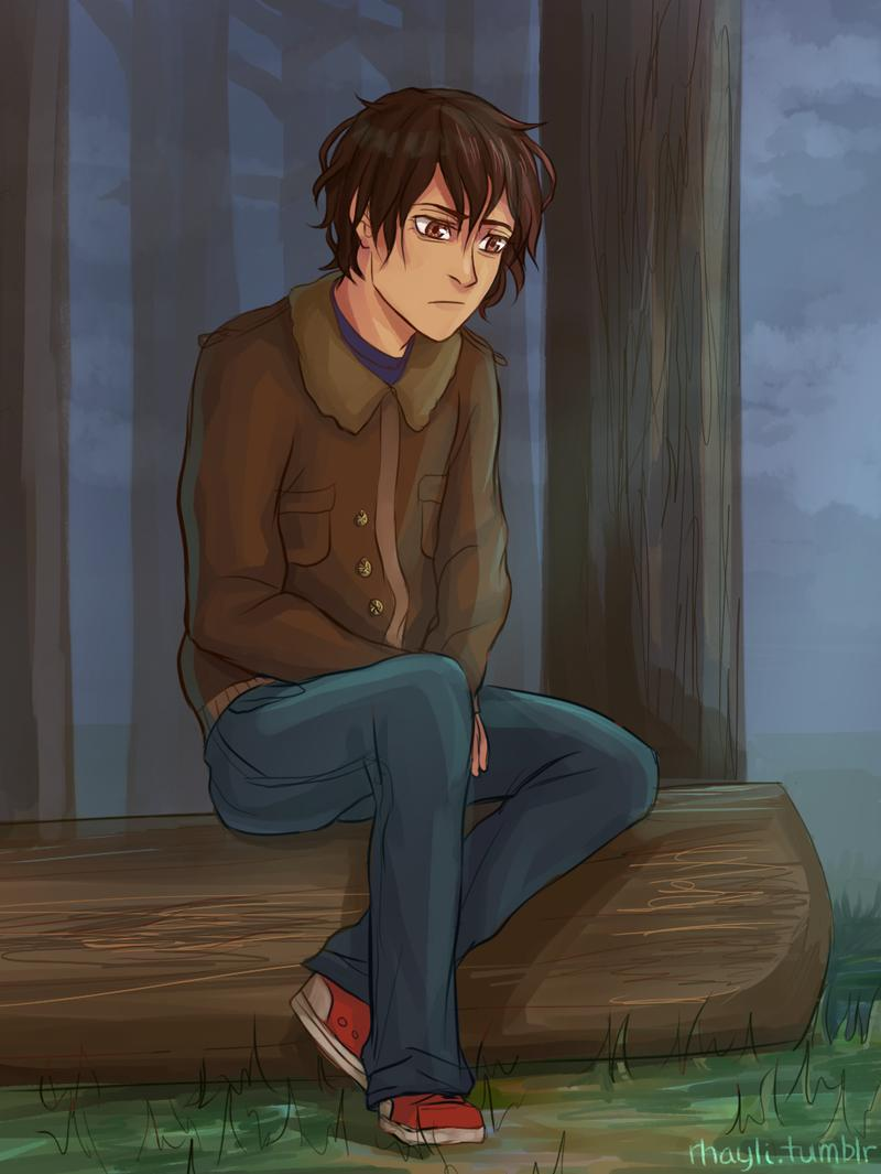 Animated Lonely Boy Wallpapers