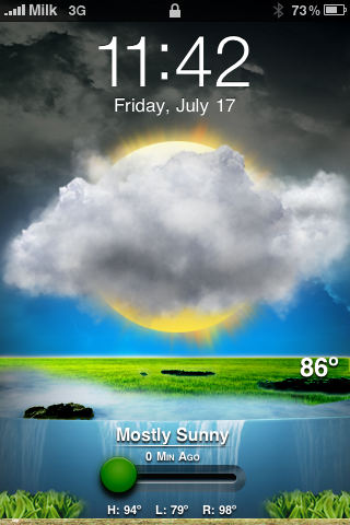 Animated Weather Wallpaper