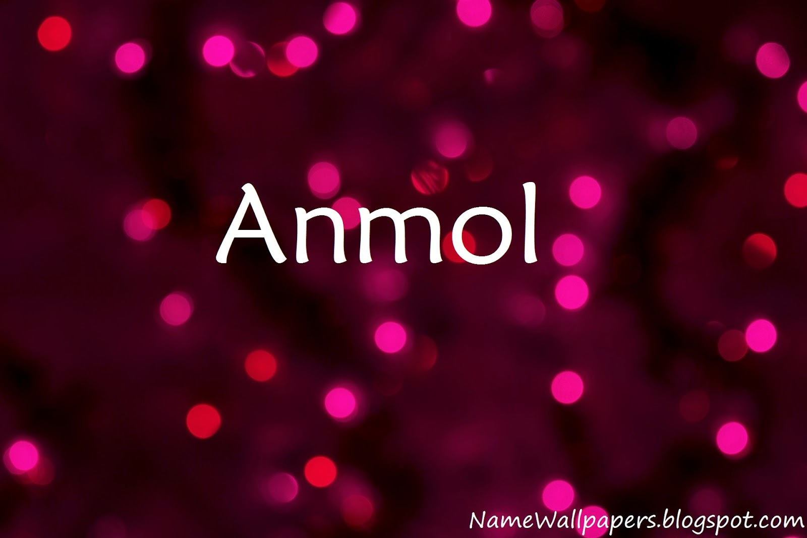 Anmol Name Wallpaper