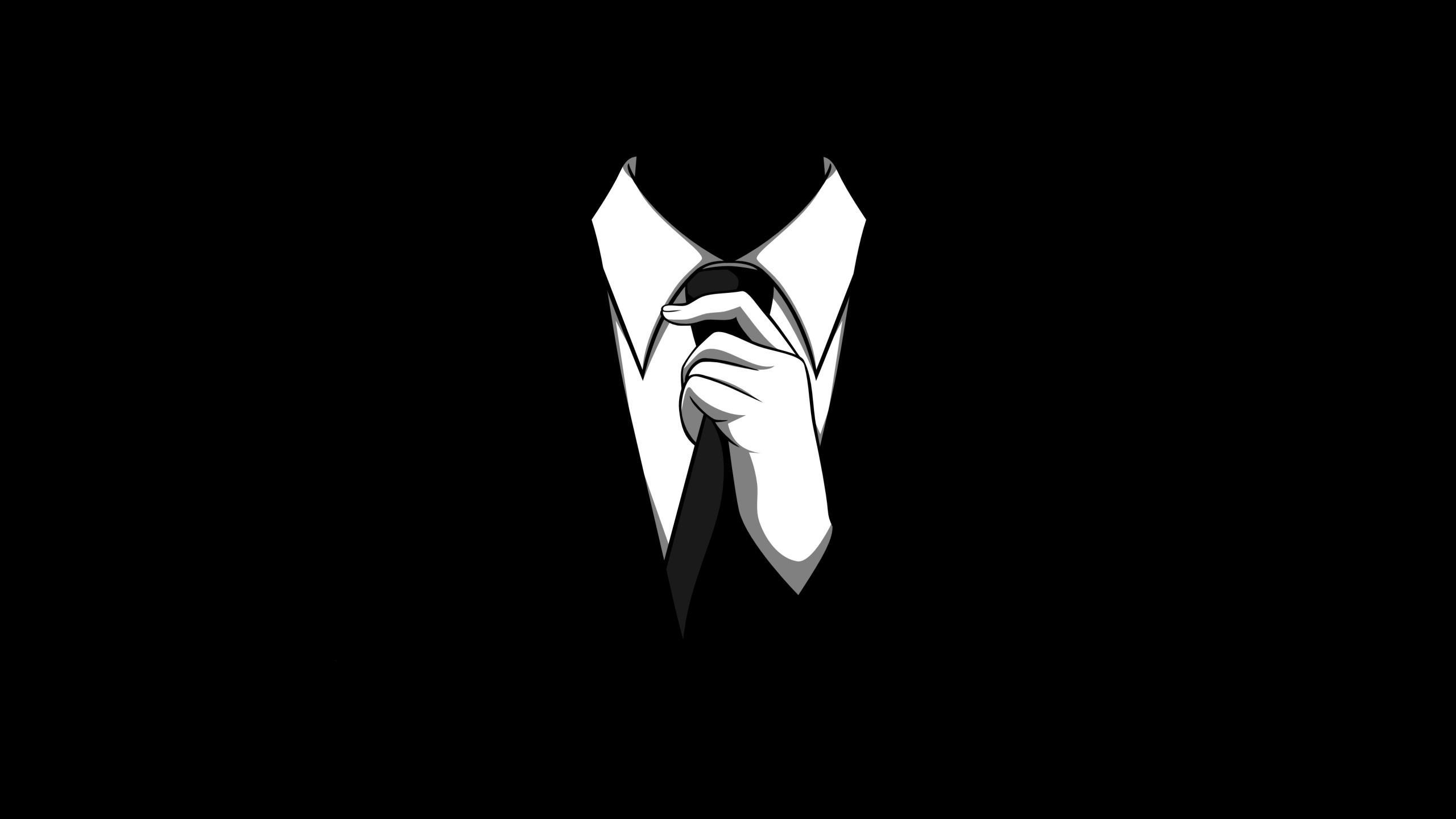 Anonymous Black Wallpaper