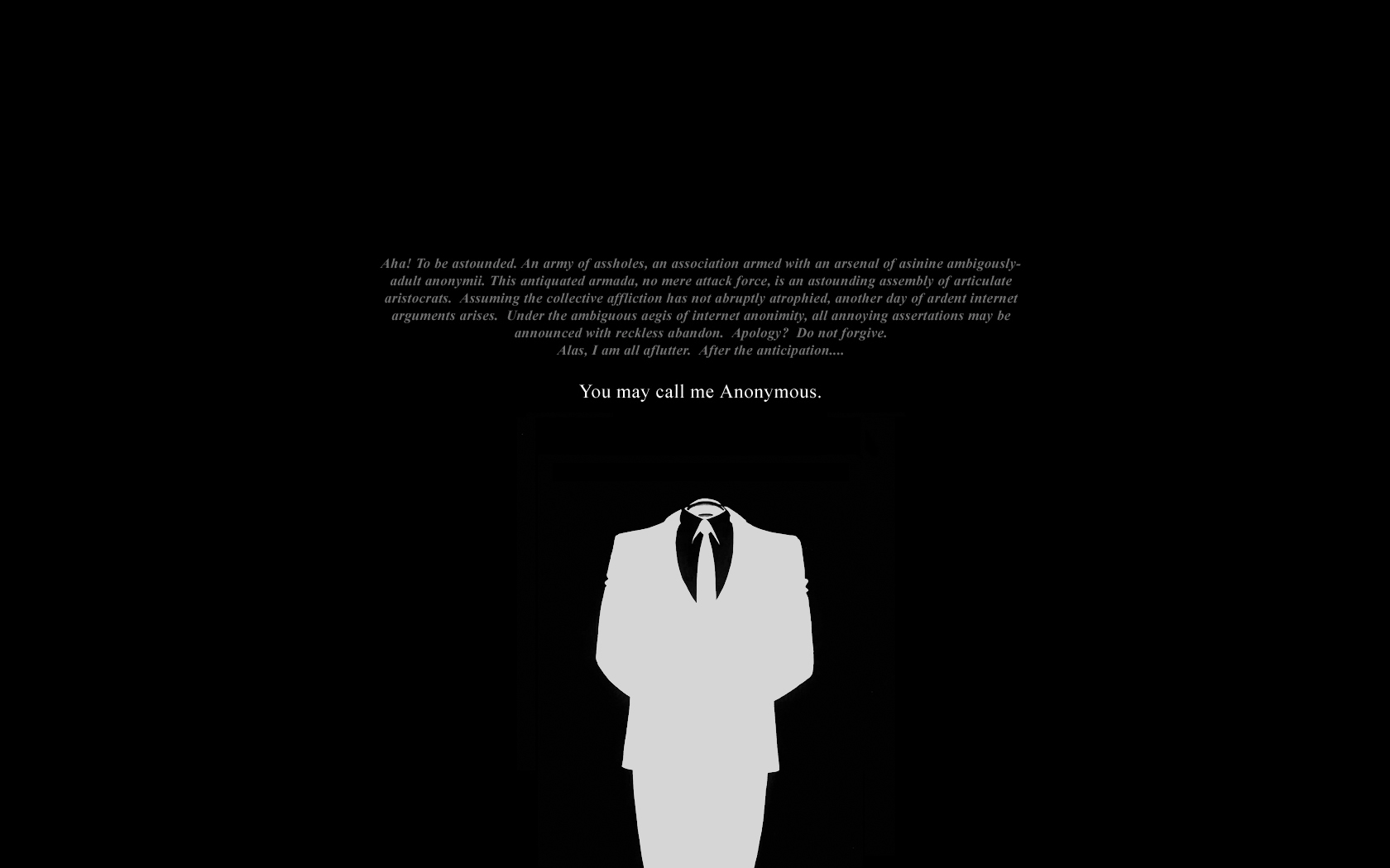 Anonymous Quotes Wallpaper
