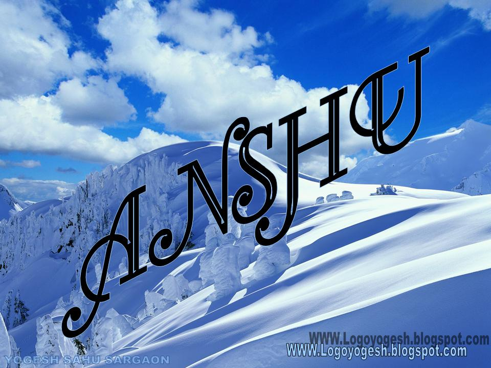 Anshu Name Wallpaper