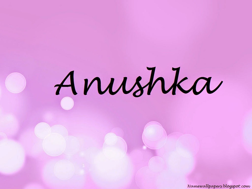 Anushka Name Wallpaper