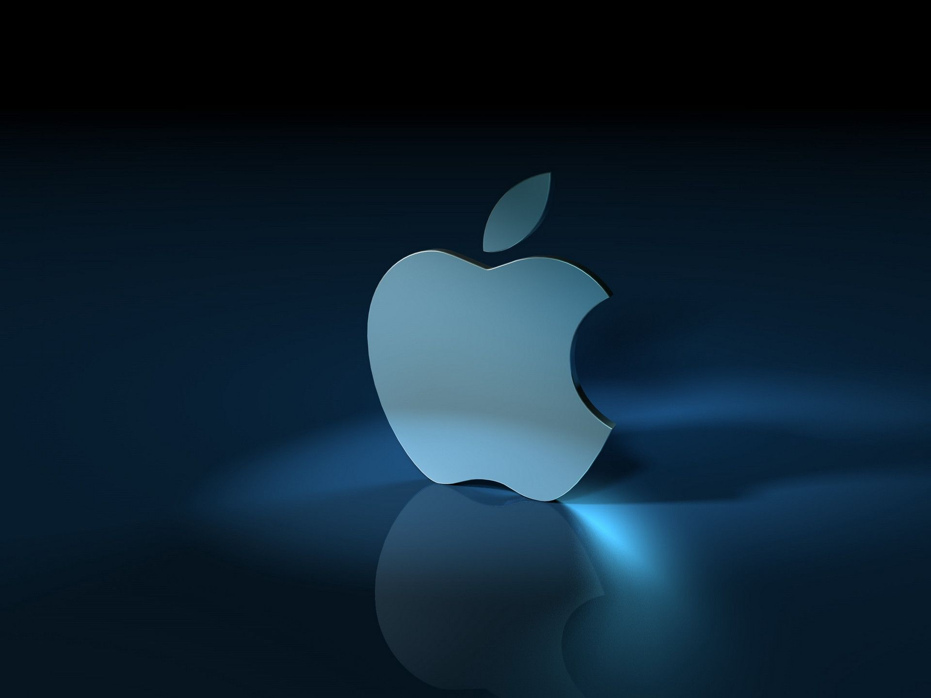 Apple 3D Logo Wallpaper