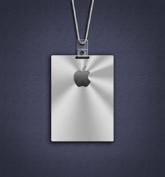 Apple Badge Wallpaper