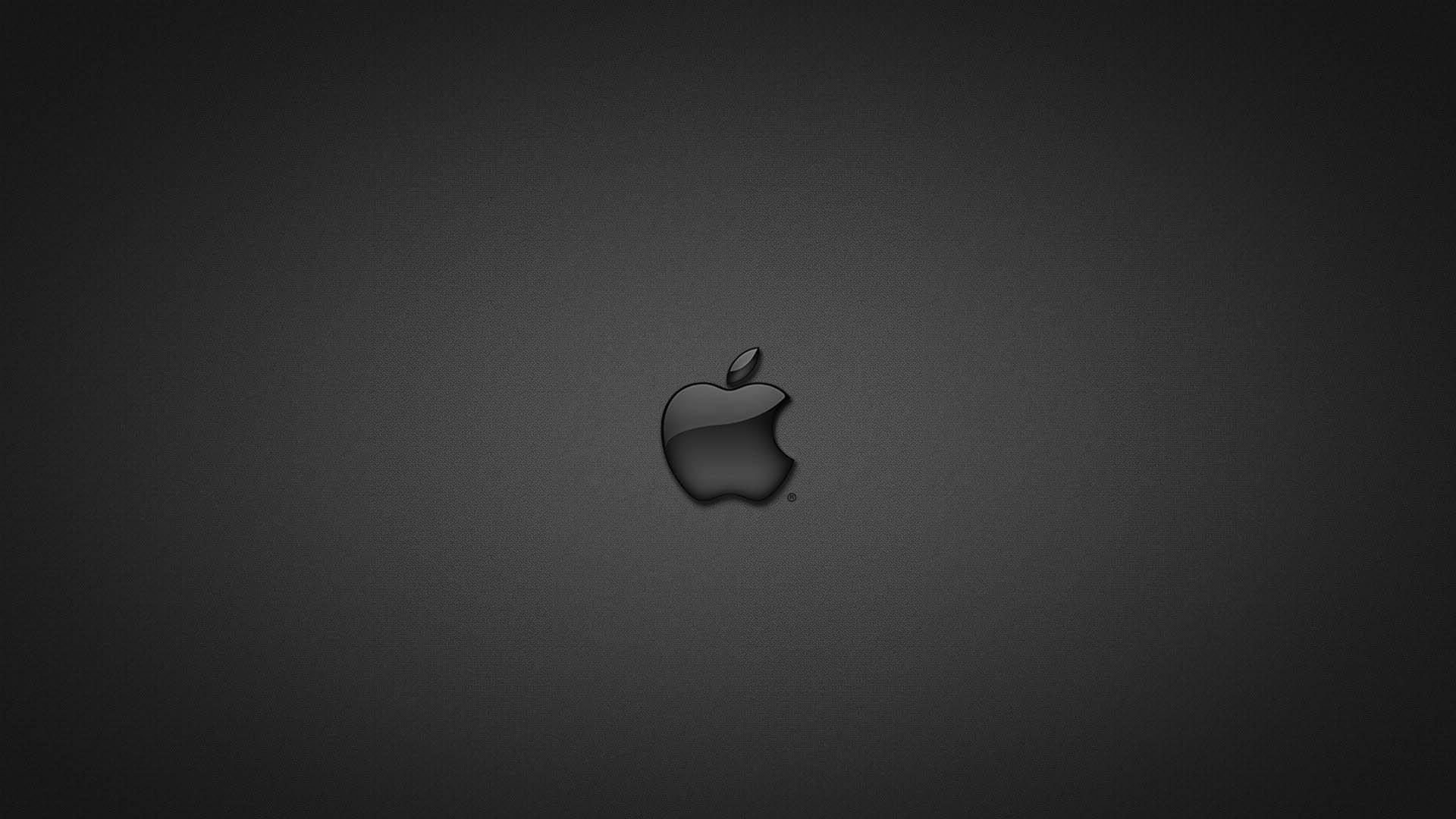 Apple Black HD Wallpaper