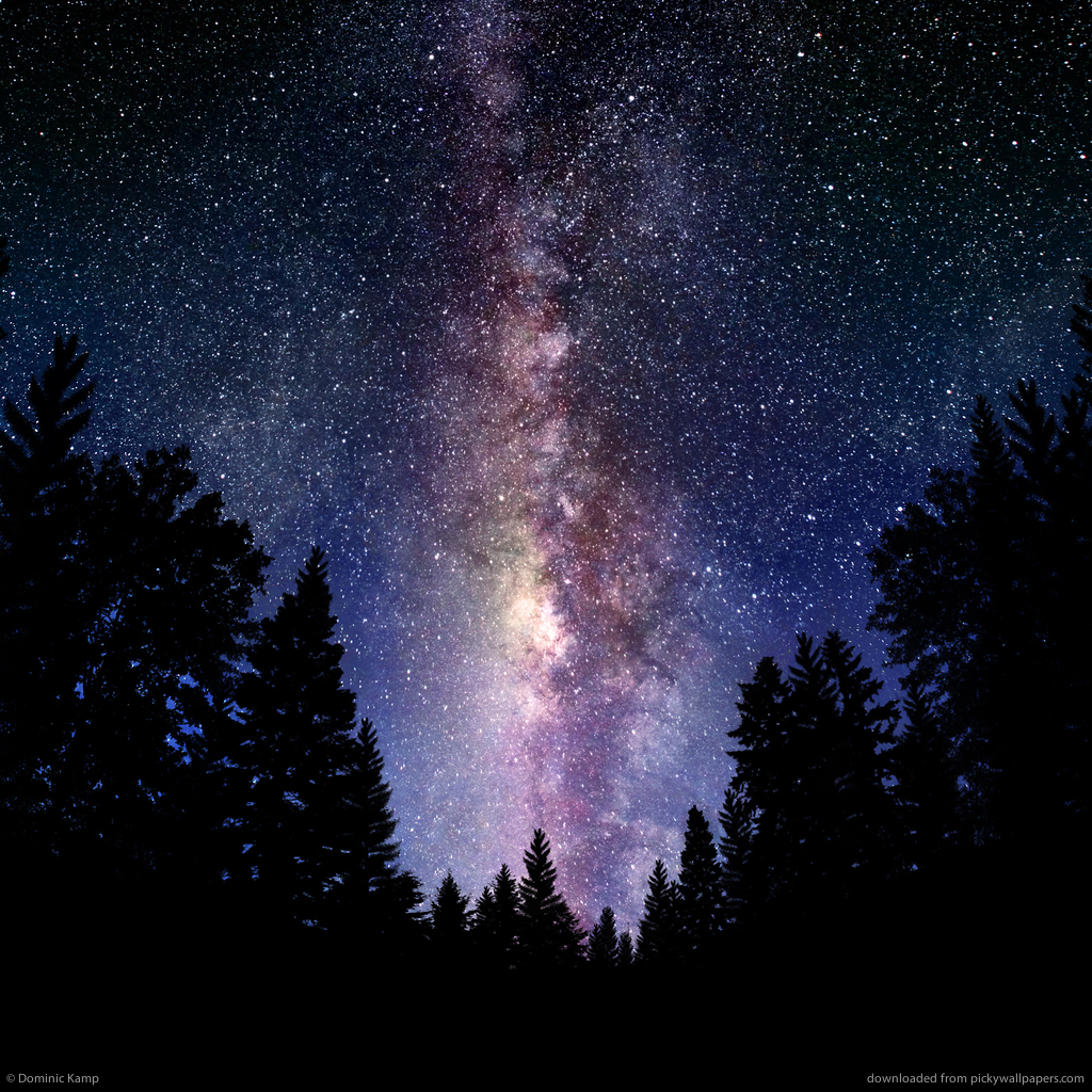 Apple Galaxy Wallpaper Ipad