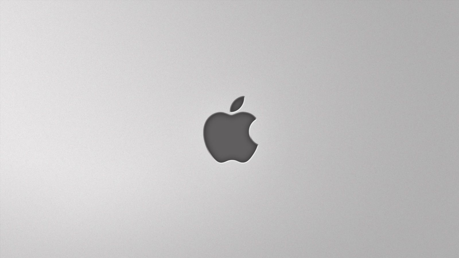 Apple Silver Wallpaper