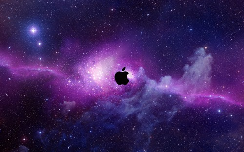 Apple Universe Wallpaper