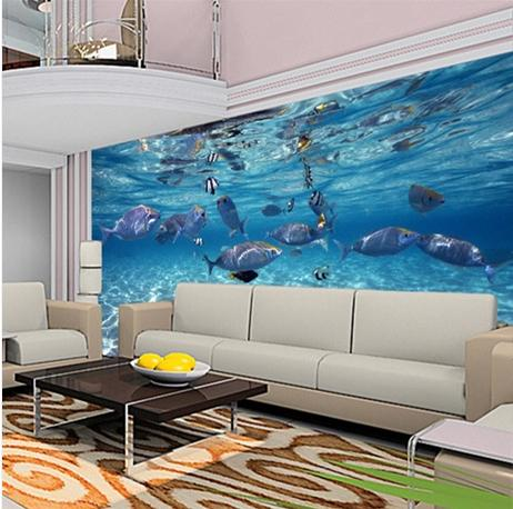 Aquarium Wallpaper For Walls