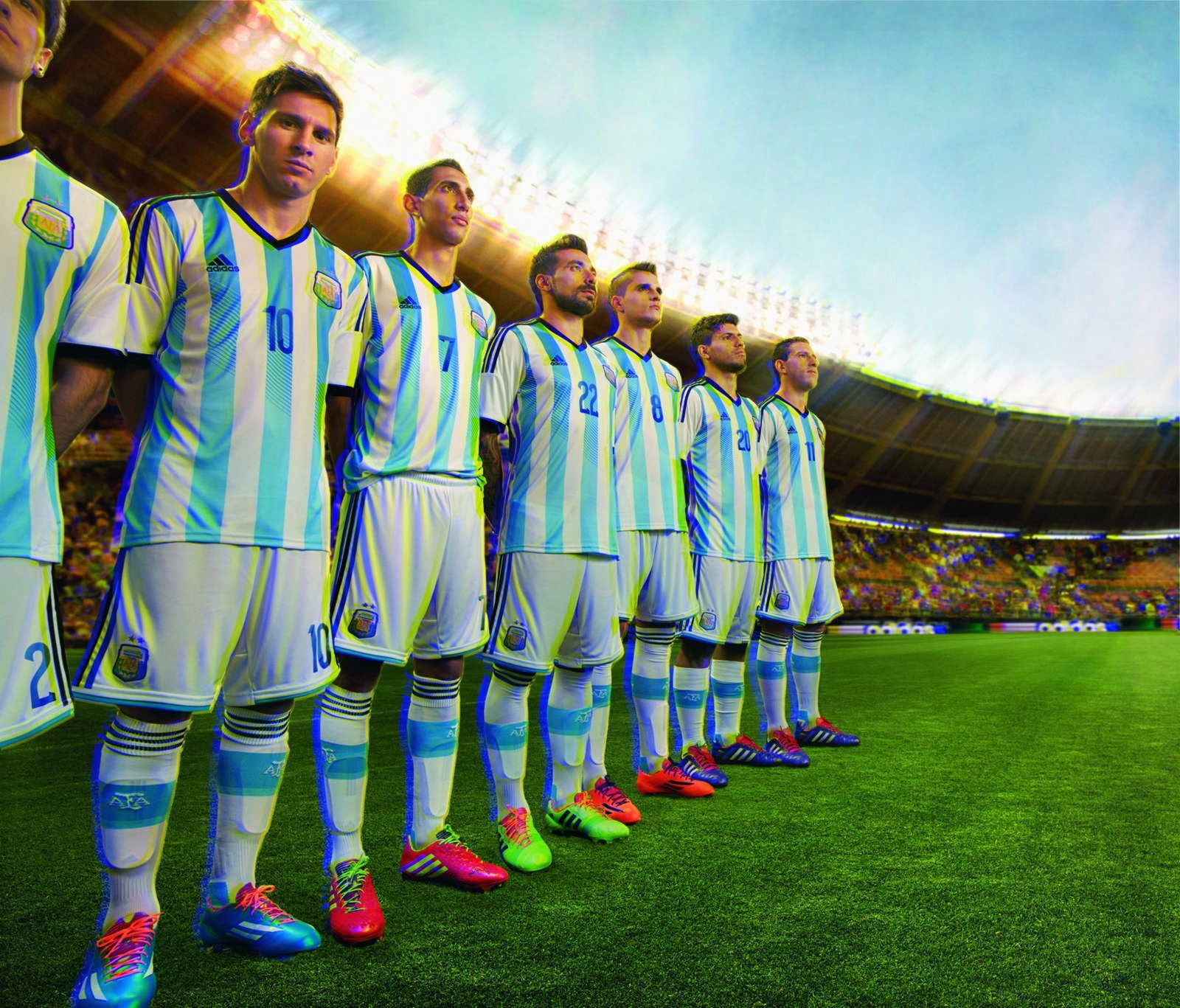 Argentina Football Team Players Wallpapers