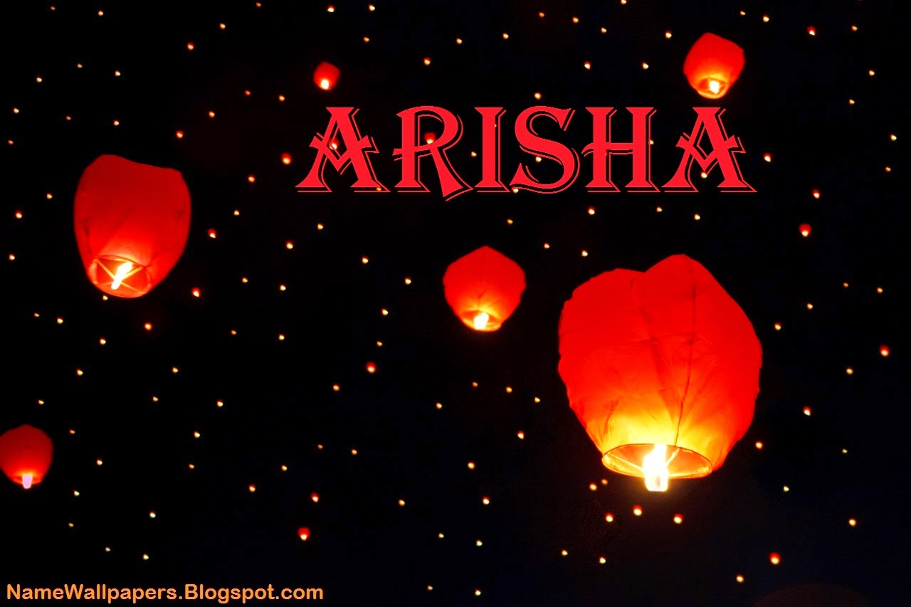 Arisha Name Wallpaper