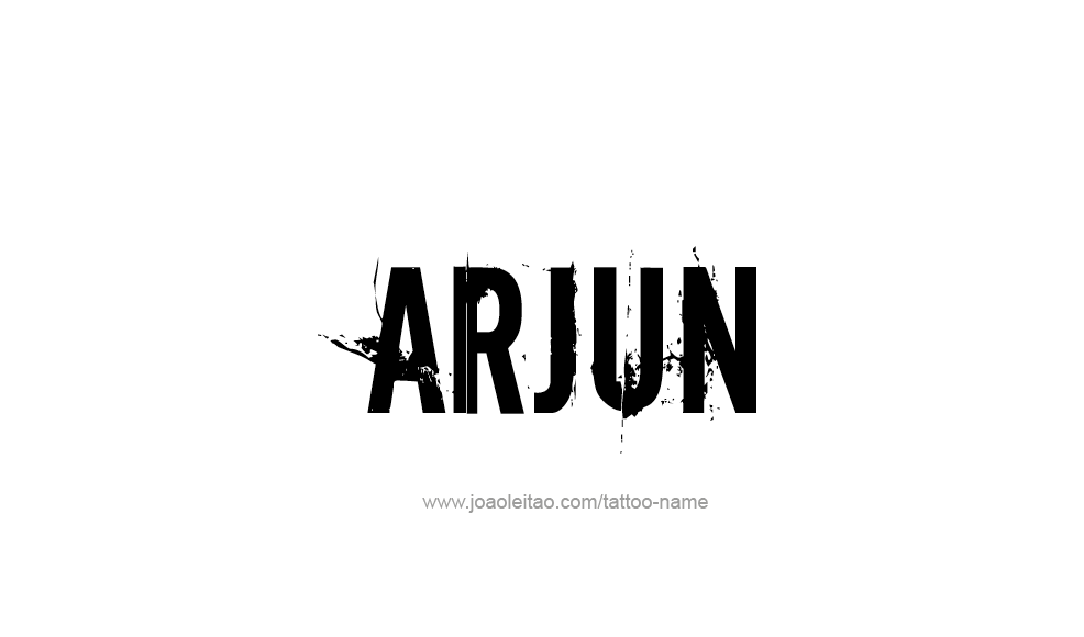 Arjun Name Wallpaper