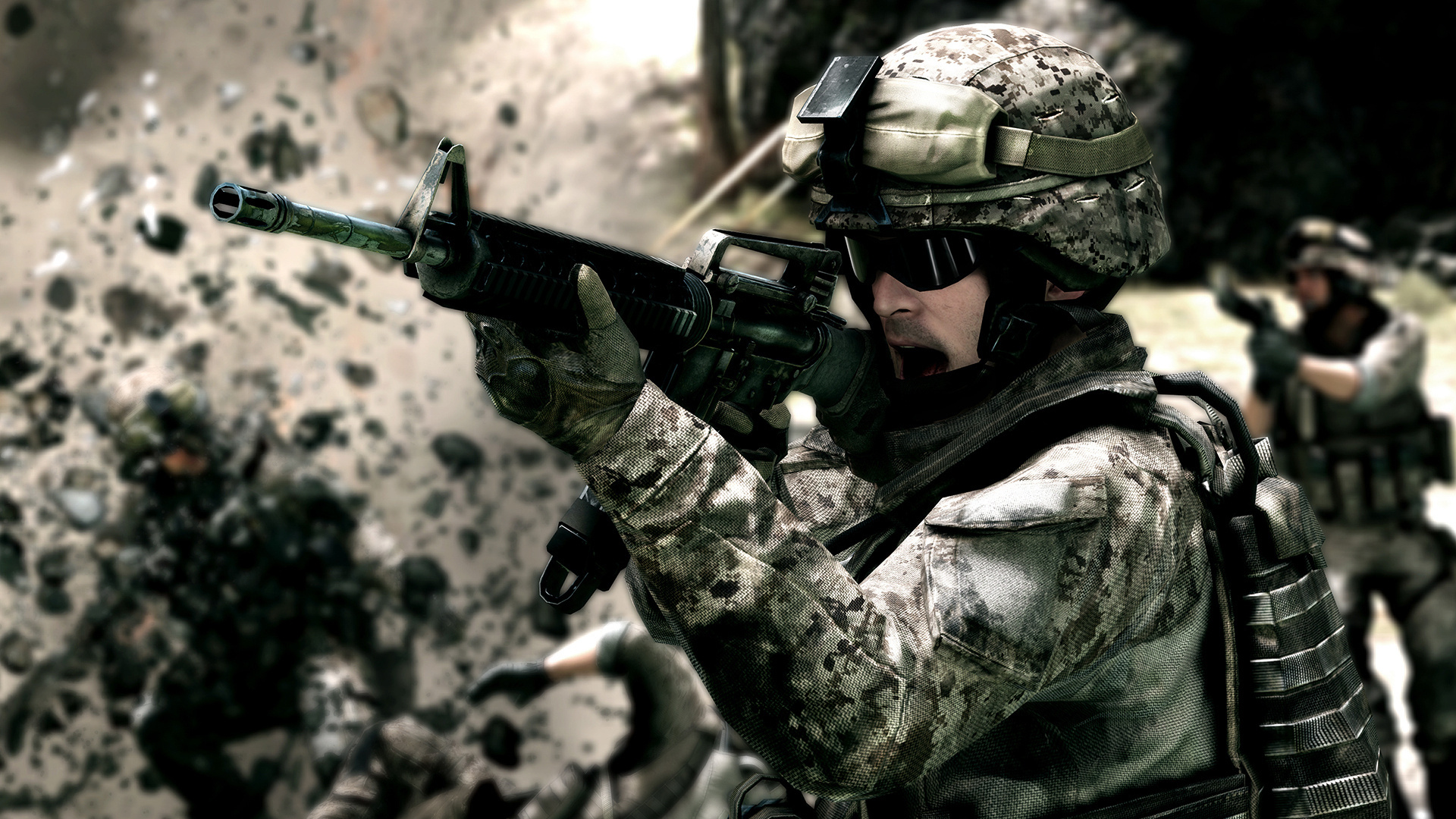 Army Full HD Wallpaper