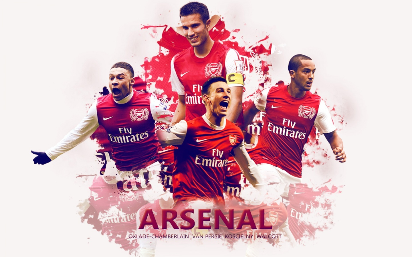 Arsenal Players Wallpaper