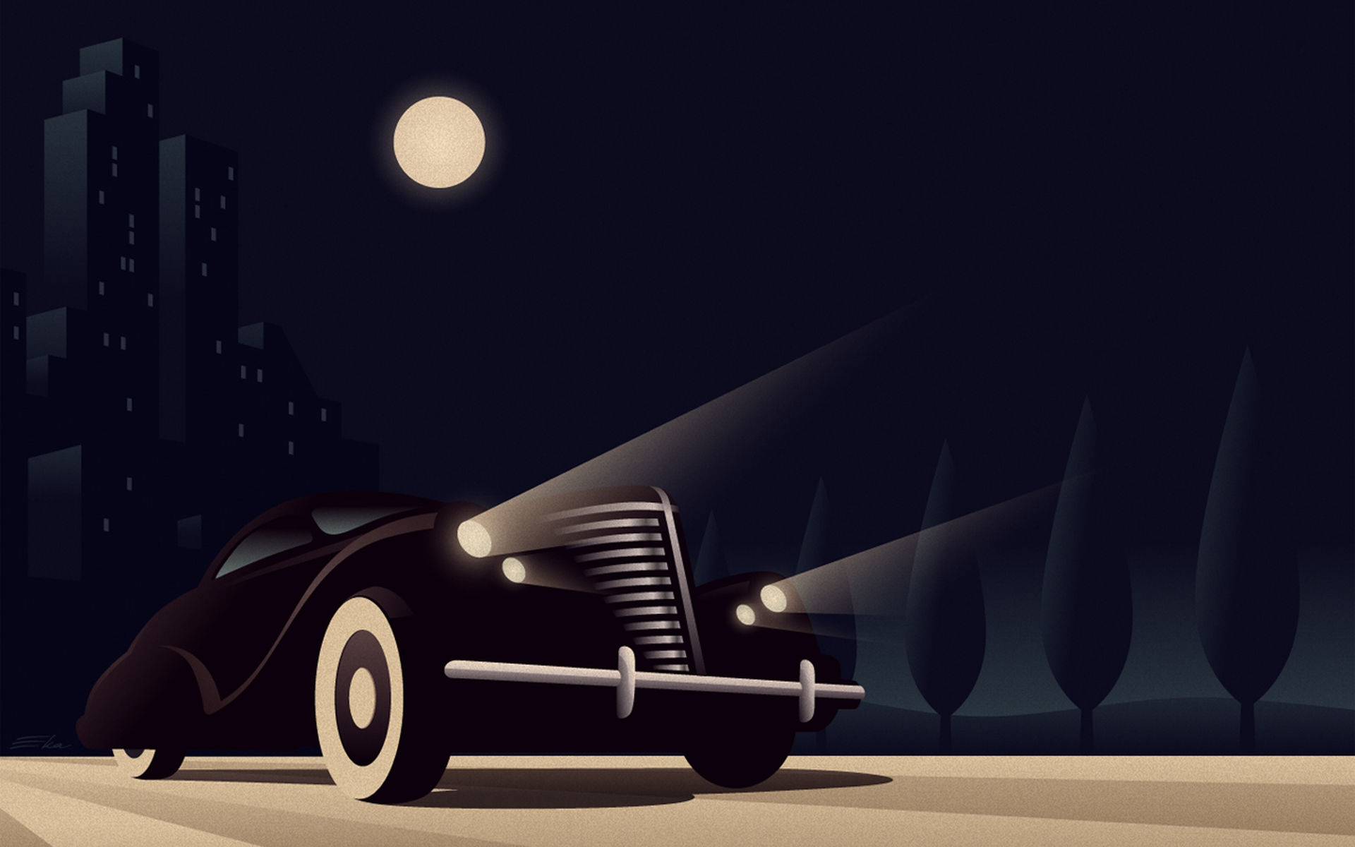 Art Deco Desktop Wallpaper