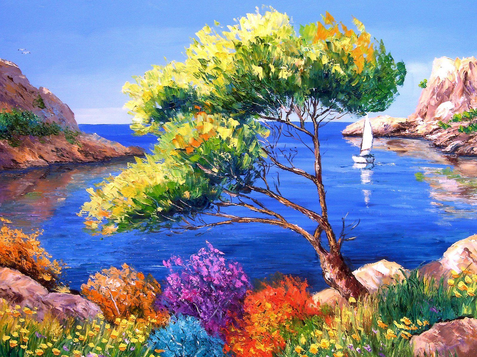 Art Painting Wallpaper Free Download