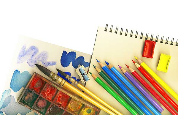 Art Supplies Wallpaper