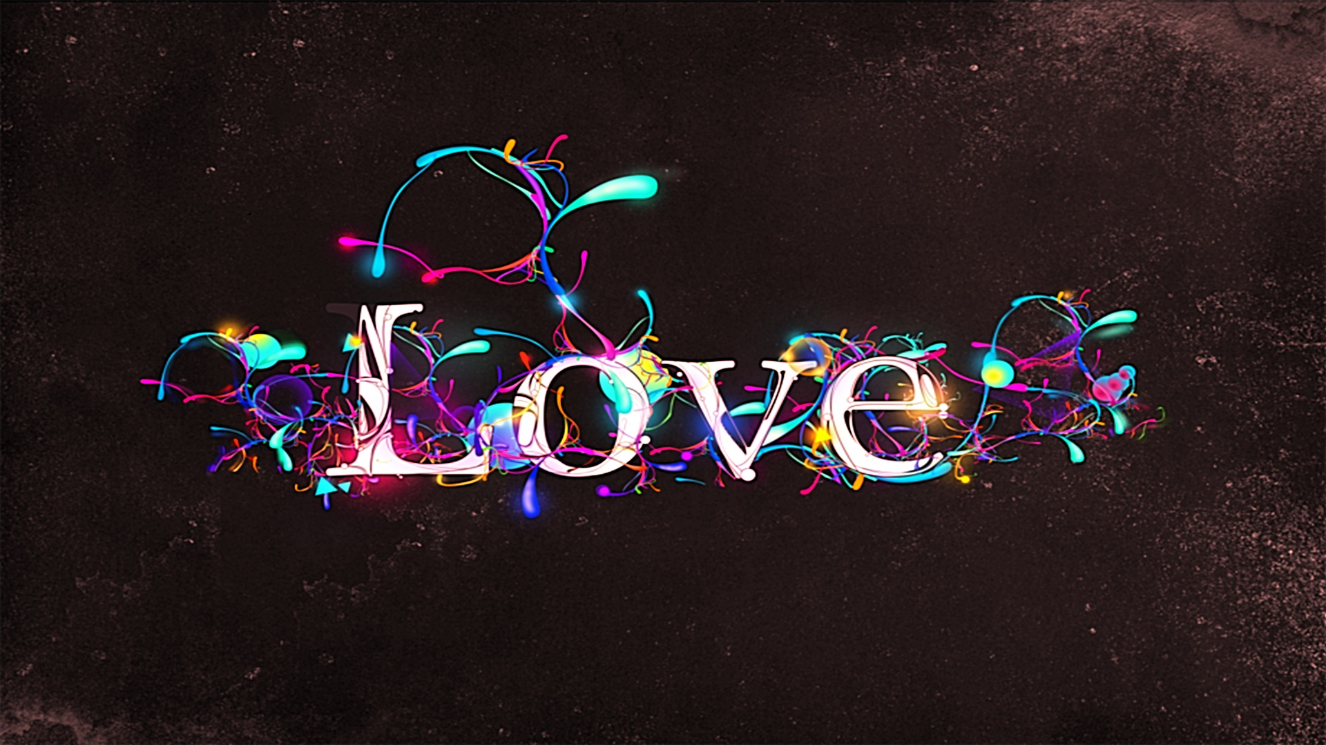 Artistic Love Wallpaper