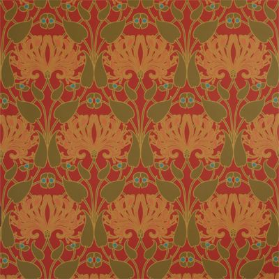 Arts And Crafts Style Wallpaper