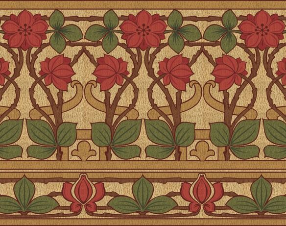 Arts And Crafts Wallpaper Borders