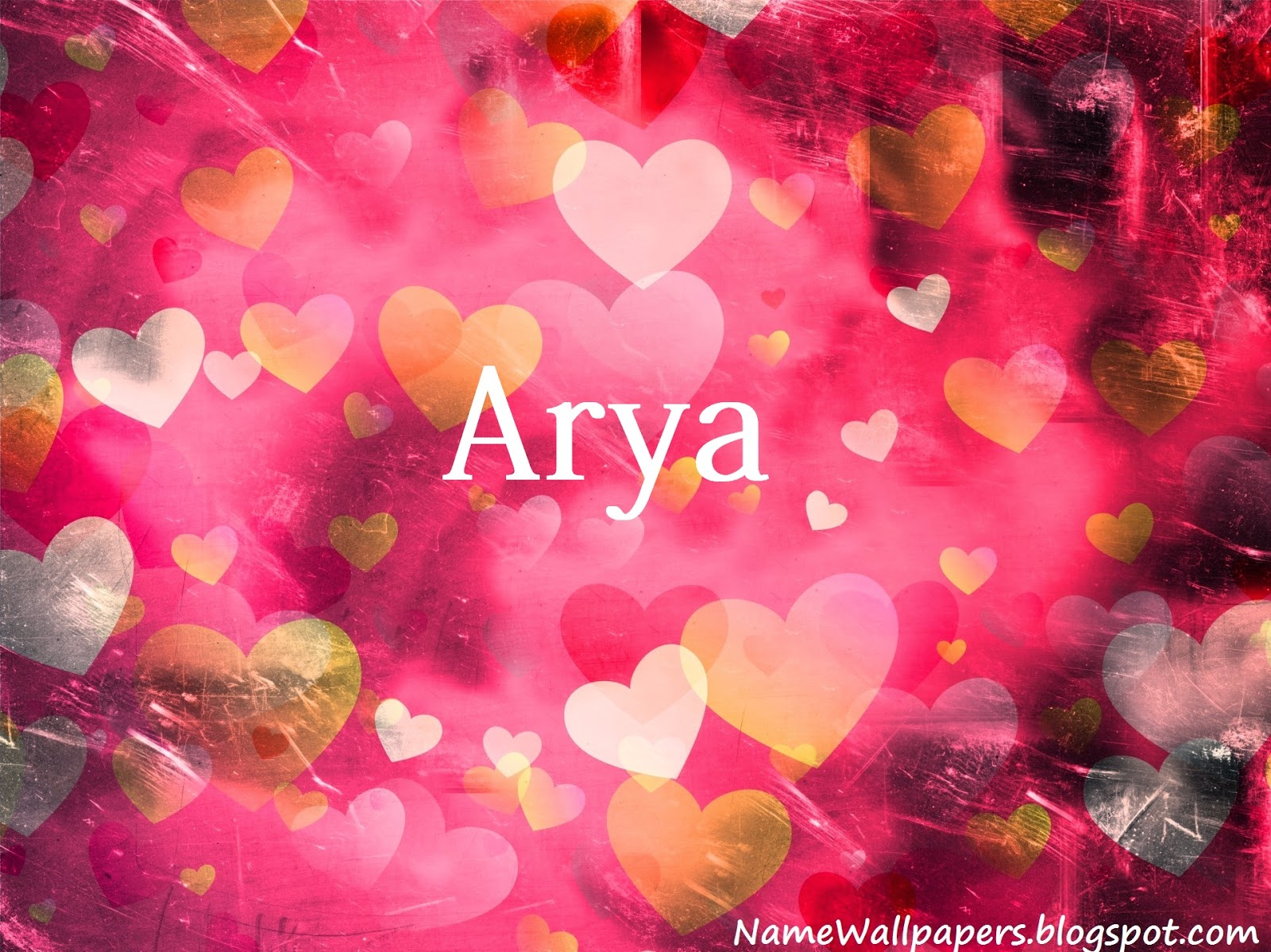 Arya Name Wallpaper