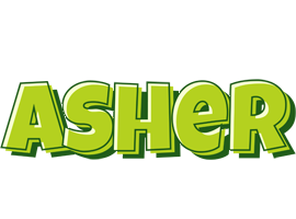 Asher Name Wallpaper