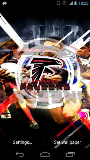 Atlanta Falcons Live Wallpaper