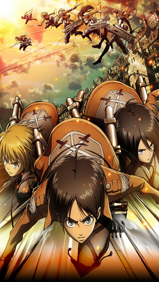 Download Attack On Titan Phone Wallpaper Gallery