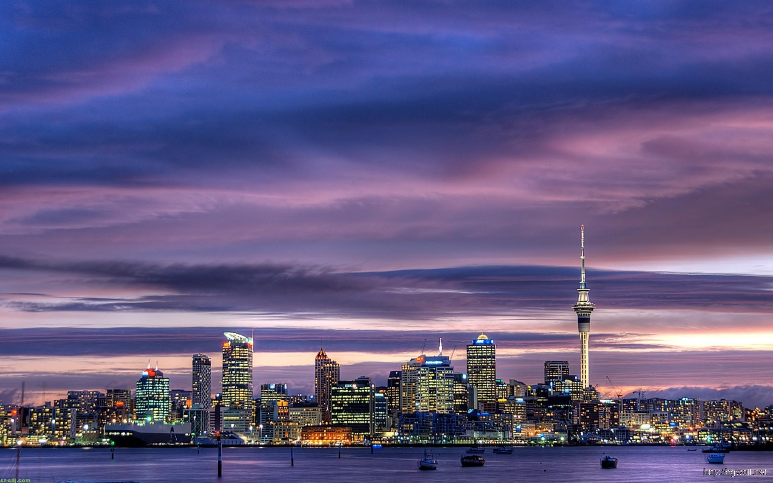 Auckland City Wallpaper