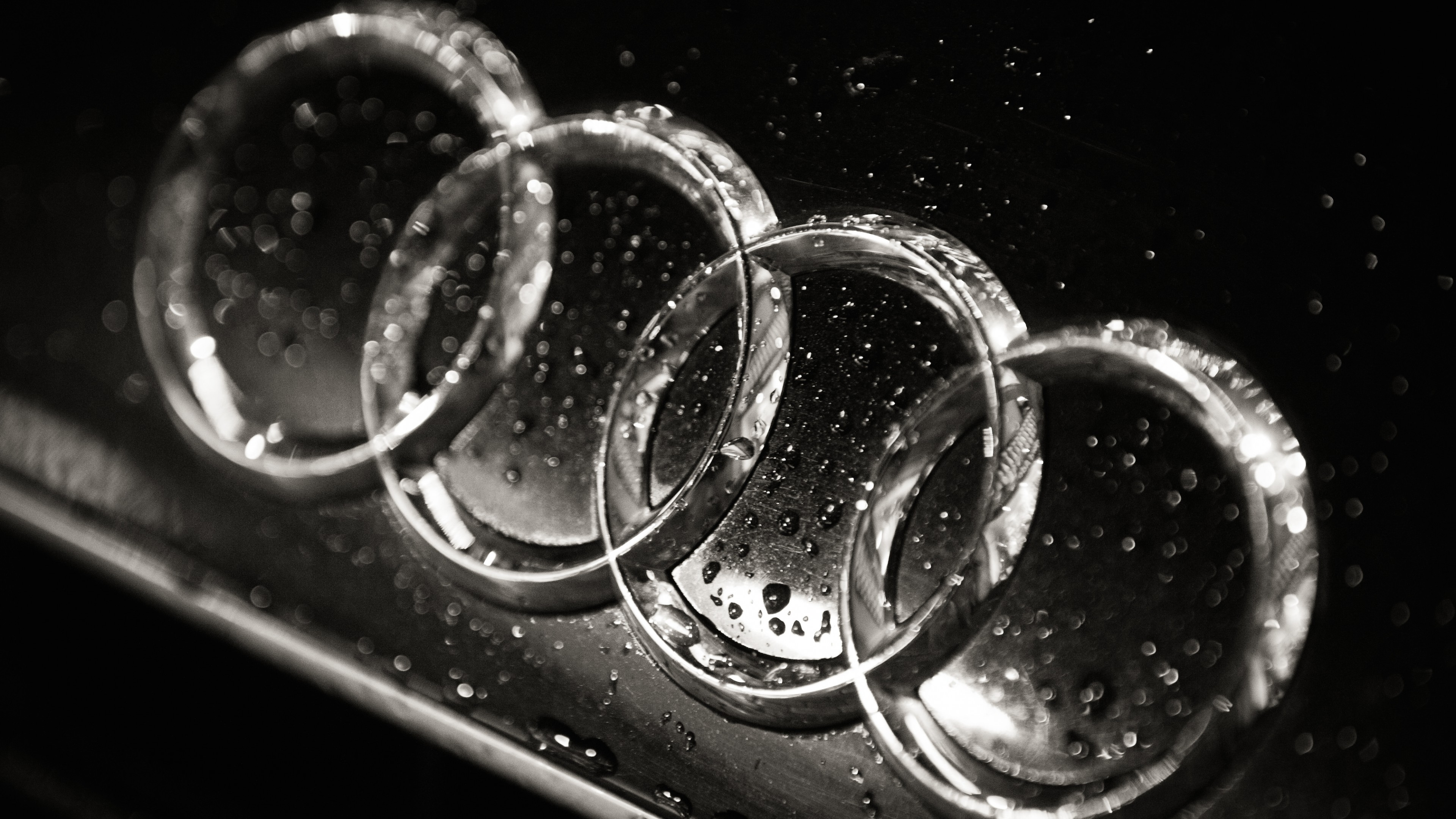 Audi Car Logo Wallpaper
