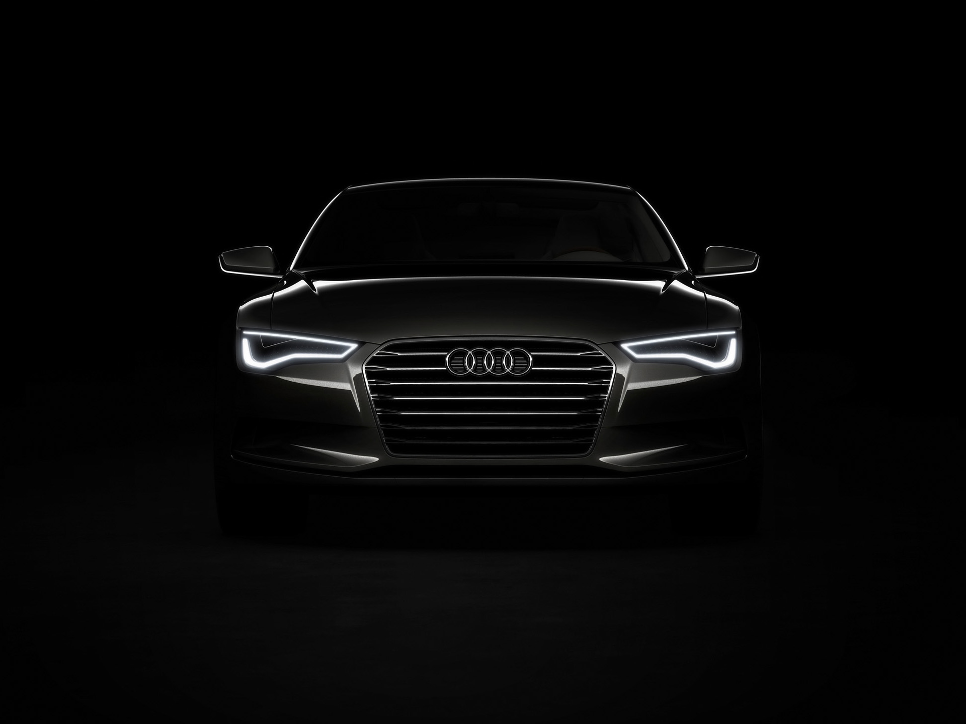 Audi Lights Wallpaper
