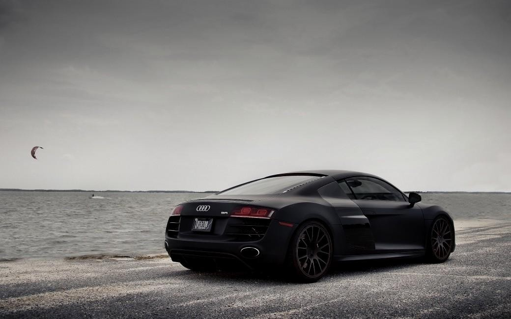 Download Audi R8 Wallpaper Black Gallery
